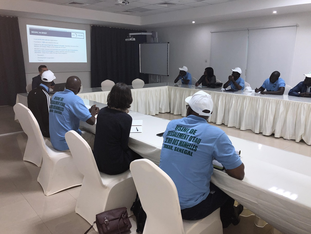 MEDRC   MEDRC Receives Senegalese Delegation Looking to